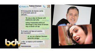 Princesa del rock, el método de seducción de Fabián Doman a Érica García