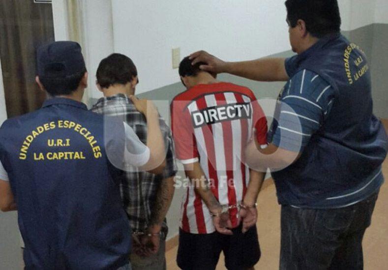 Los recapturados. Se habían escapado de cárceles santafesinas y fueron detenidos a metros de