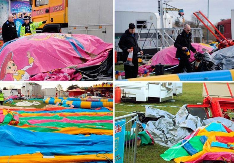 Tragedia en Inglaterra: una nena murió mientras jugaba en un castillo inflable