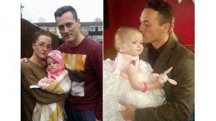 Un padre se casó con su hija de 16 meses porque le quedaban dos días de vida