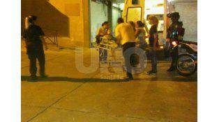 Escena. Una de las víctimas de los crímenes de Zeballos al 5500 llegaba así al hospital José María Cullen