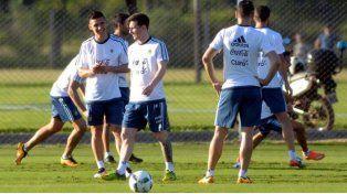 El último ensayo de la Selección antes del partido frente a los bolivianos