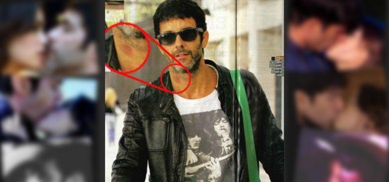 ¿De quién era realmente el chupón con el que apareció en el cuello Mariano Martínez?