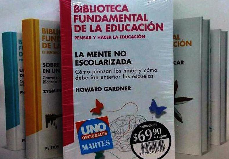 Este martes pedí Biblioteca Fundamental de Educación