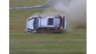 Impactante accidente en el TC 2000 en Concordia