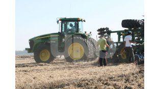 Buen clima. Las tareas se reanudaron luego de las lluvias que obligaron a posponer la cosecha / Foto: Archivo Uno