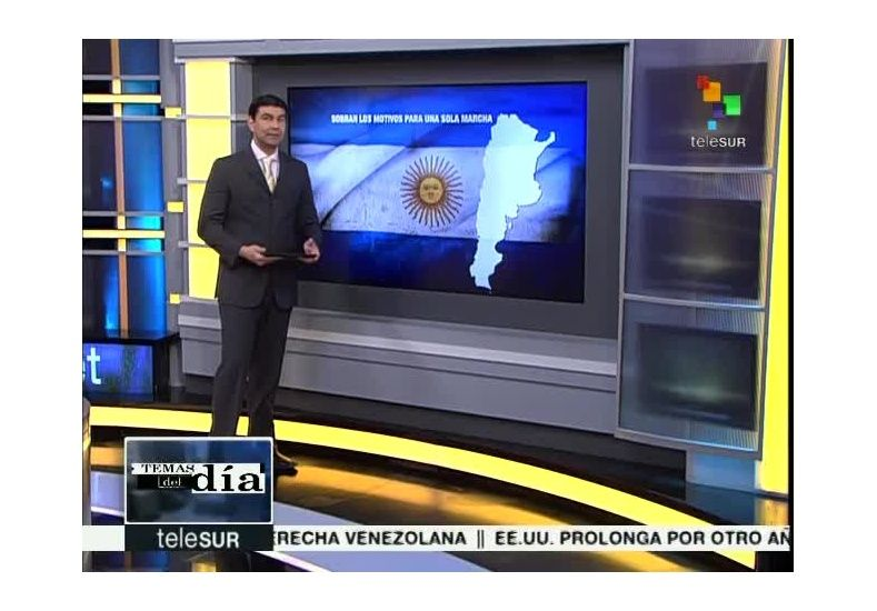 Por decisión del gobierno nacional, la Argentina abandona la señal Telesur