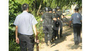 Luego de los tres asesinatos, se realizaron intensos operativos en barrio Cabal