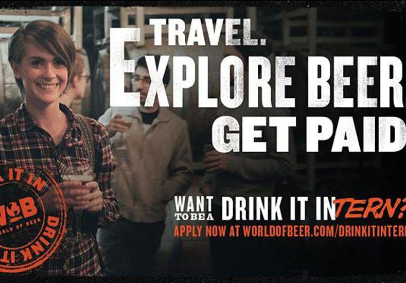 Buscan personas dispuestas a recorrer el mundo tomando cerveza