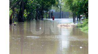 Evacuados. En el territorio provincial aún hay 1.479 personas que no pudieron volver a sus hogares. Foto: José Busiemi / UNO Santa Fe