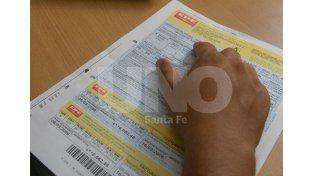 Boleta. Se le pidió por nota a la Empresa Provincial de la Energía mayor información. Foto: José Busiemi / UNO Santa Fe