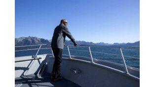 Obama publicó fotos de su visita a la Patagonia y aseguró que fue hermoso