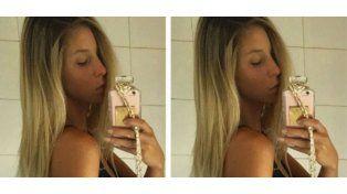 Calientes fotos de Romina Malaspina frente al espejo