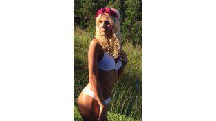 La sexy producción de fotos de Candela Ruggeri