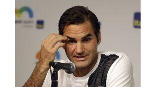 Federer.  Foto: AP