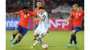 Messi se mostró satisfecho por el rendimiento del equipo. (Foto:DyN)
