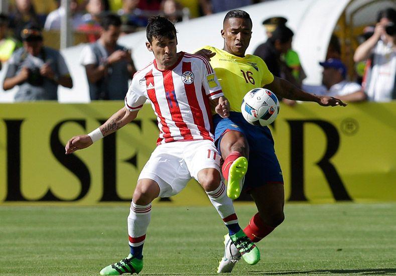 Ecuador rescató un empate y sigue al frente de las Eliminatorias