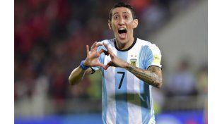 Di María apareció justo a tiempo y convirtió el empate transitorio frente a Chile.