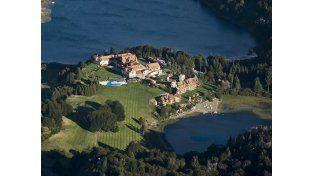 La suite de lujo en la que se aloja la familia Obama en Bariloche.