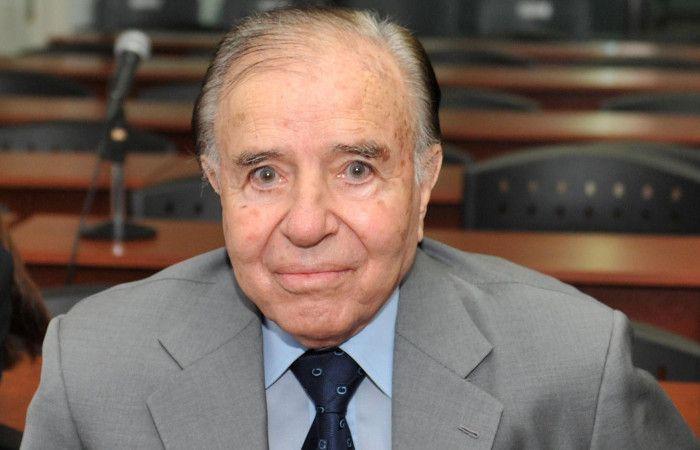 Menem declarará en la causa por el presunto asesinato de su hijo si Macri lo determina