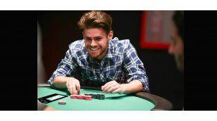 Gastón Soffritti es fan del póker
