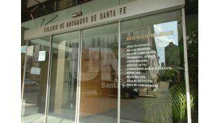 Postura. El Colegio de Abogados planteó su visión sobre las vacantes en la Justicia provincial / Foto: Manuel Testi - Uno Santa Fe