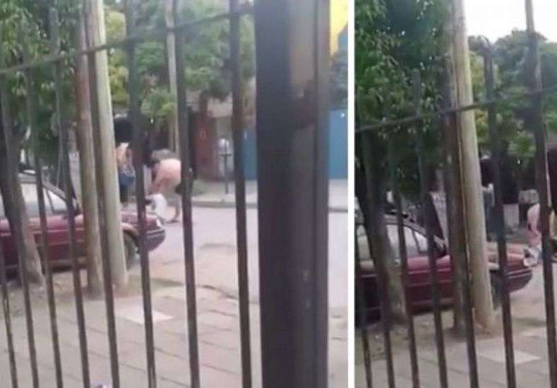 Horroroso: así mataron a una mujer a palazos en plena calle de La Matanza