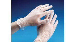 Estados Unidos prohibirá la venta de guantes quirúrgicos con talco