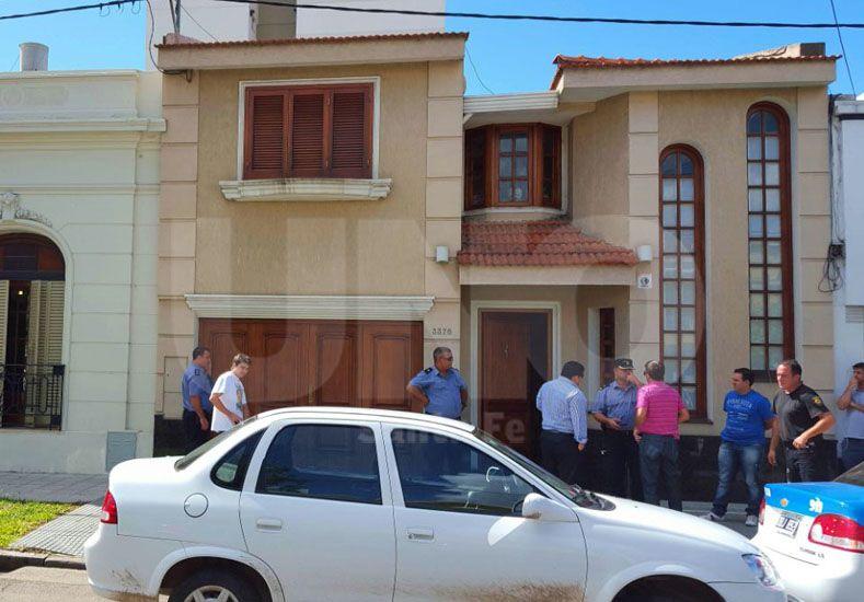 La vivienda blanco de los delincuentes en calle Saavedra al 3.300.