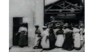 Mirá la primera película de la historia del cine, a 121 años de su proyección