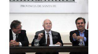 """Contacto. El mandatario dijo que su gestión es de """"cercanía con el territorio / Foto: Juan Manuel Baialardo - Uno Santa Fe"""