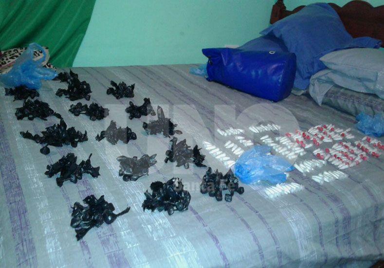 B° Cnel. Dorrego: secuestraron drogas por más de 300.000 pesos