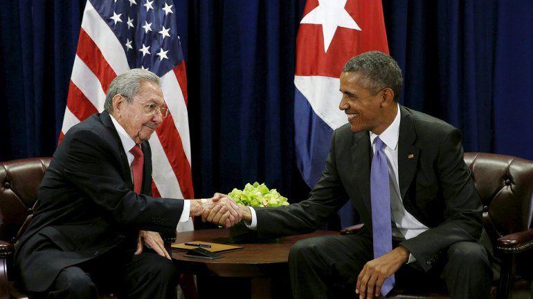 Raúl Castro pidió el fin del bloqueo económico al presidente Obama