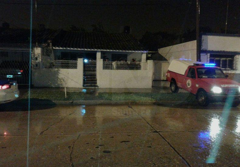 Homicidio. Policías y fiscales investigan el crimen de Aguiar.