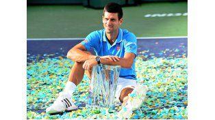 Djokovic aplastó a Raonic y se consagró campeón de la edición 2016 de Indian Wells.
