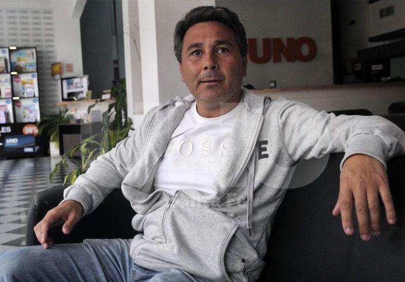 El agente del 10 dijo que descarta la posibilidad que se vaya de Colón/ Juan M. Baialardo