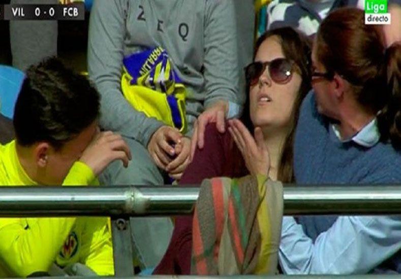 Messi noqueó a una hincha del Villarreal