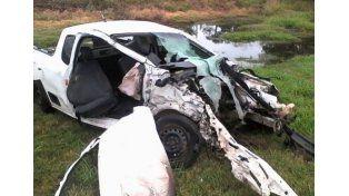 Tres jóvenes murieron en un violento accidente en cercanías de Venado Tuerto