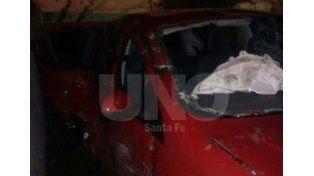 Seis personas resultaron heridas en un choque en Monte Vera