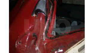 Hubo seis heridos en un choque en el kilómetro 18 de la ruta 2 en Monte Vera