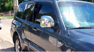 VIDEO: quedó atrapado por un innovador sistema cuando quiso robar una 4 X 4