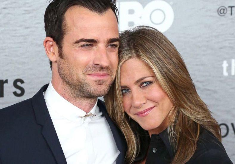 Rumores de divorcio entre Jennifer Aniston y Justin Theroux