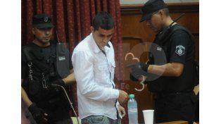 El acusado fue condenado a perpetua por el femicidio de su ex pareja ocurrido en 2013./ Manuel Testi.
