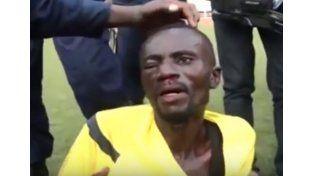 Hinchas enfurecidos lincharon a un árbitro en el Congo