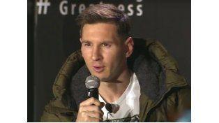 El rosarino Lionel Messi reiteró su deseo de jugar en Newells si en el futuro llega al fútbol argentino.