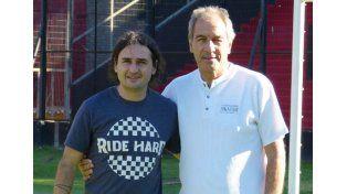 Nelson Agoglia junto a Francisco Ferraro