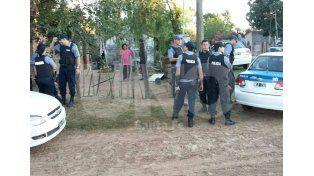 Durante el operativo realizado para dar con los detenidos en Santa Rosa de Calchines.