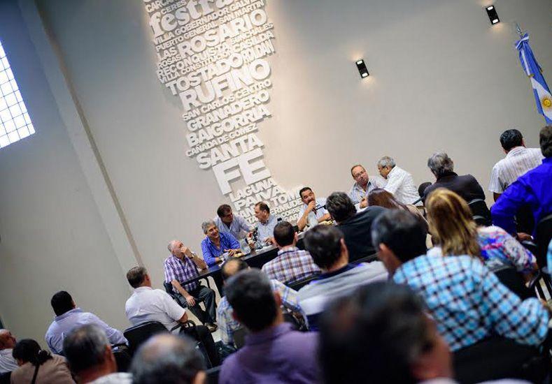 Decisión. Los secretarios generales se reunirán cuando tengan una oferta. El límite es el viernes / Foto: Gentileza Prensa Festram