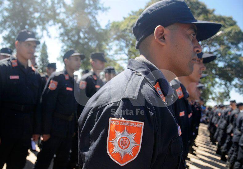 Proximidad. La fuerza especial se convirtió en poco tiempo en pilar de la seguridad en varias zonas.  UNO de Santa Fe/Manuel Testi