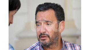 Claudio Leoni de FESTRAM no descartó la realización de medidas de fuerza si no se llega a un acuerdo este miércoles / Foto: José Busiemi - Uno Santa Fe